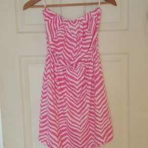 Strapless lilly Pulitzer